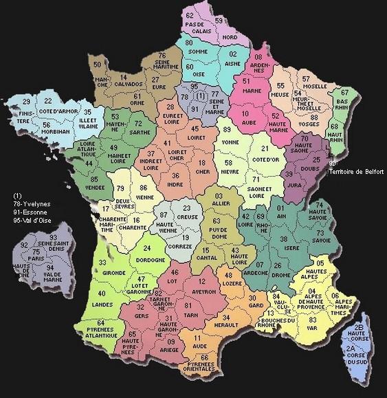101 départements